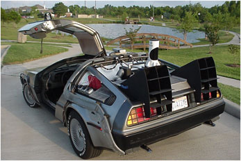 Back-To-The-Future-Delorean