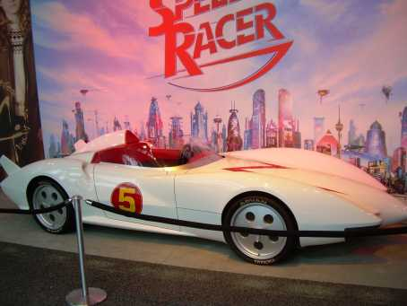 Mach-5 Car Speed-Racer