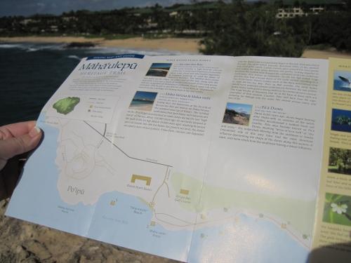 Mahaulepu Heritage Trail in Poipu Kauai