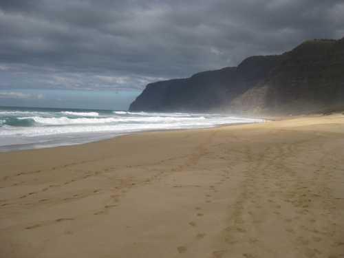 Polihale State Park Beach