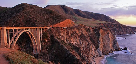Bixby Bridge at Dusk Big Sur