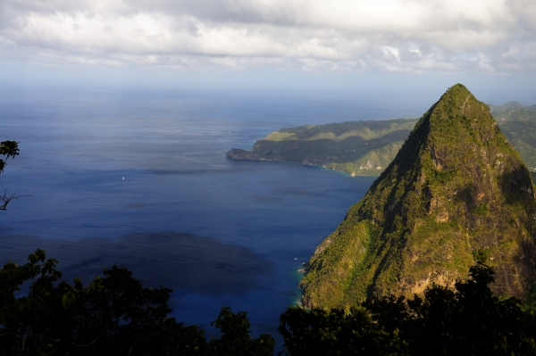 St-Lucia View From Grand Piton