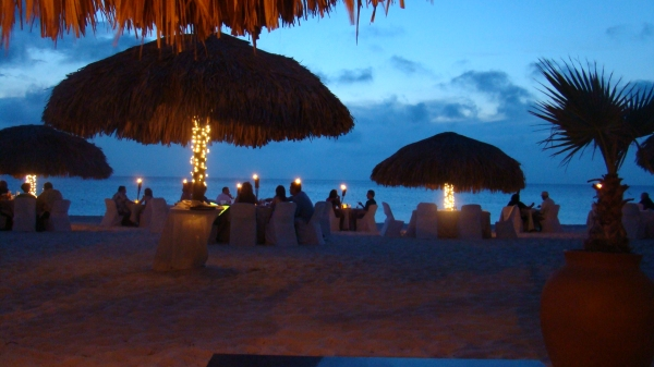 Aruba Beach Dining